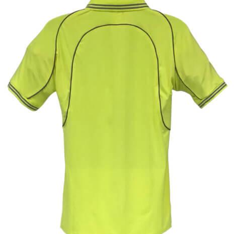 High Visibility Reflective Piping Polo Shirt 1