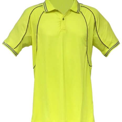 High Visibility Reflective Piping Polo Shirt 2